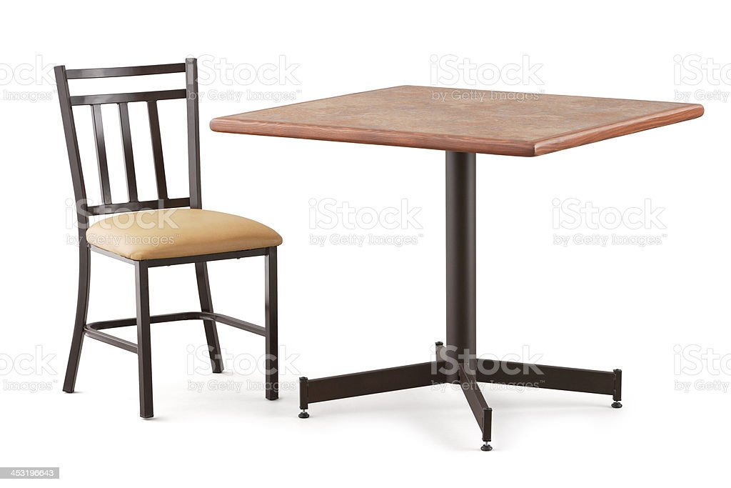 Table and Chair royalty-free stock photo