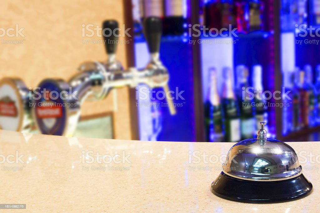 Table bell royalty-free stock photo