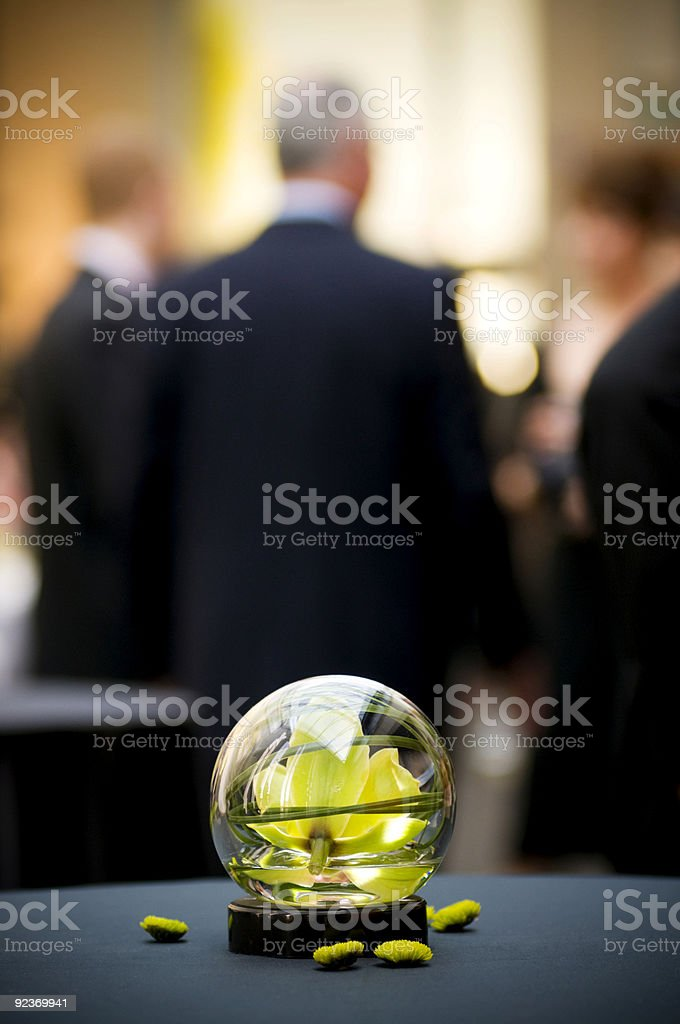 table center piece royalty-free stock photo