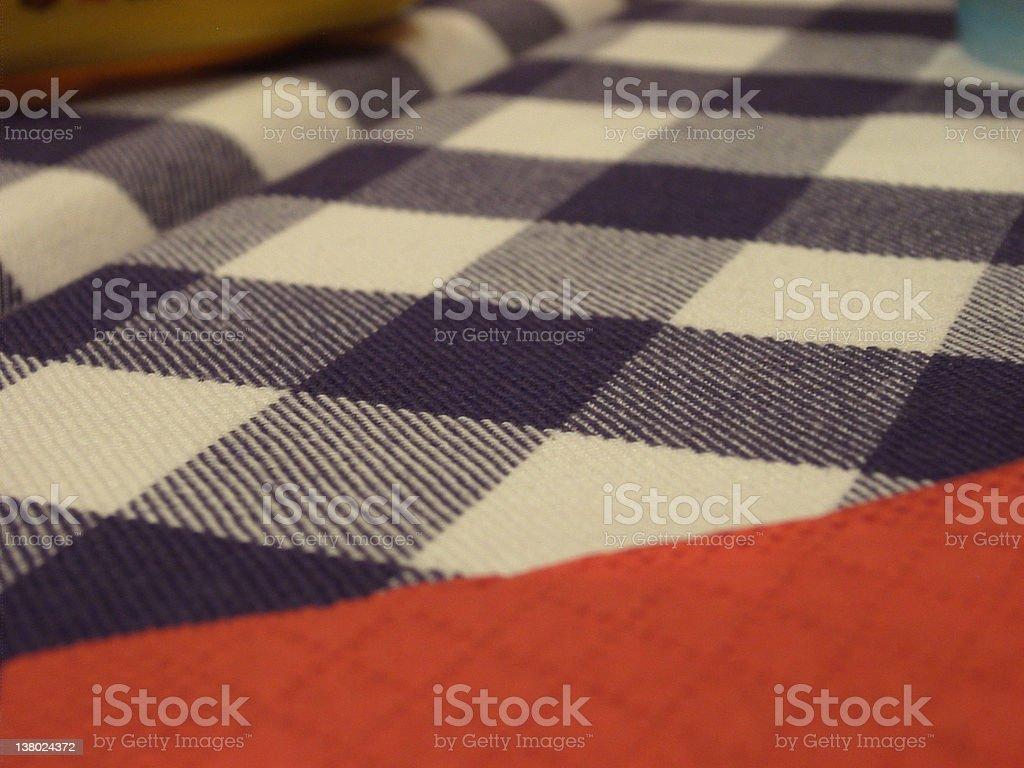 Table Cloth royalty-free stock photo