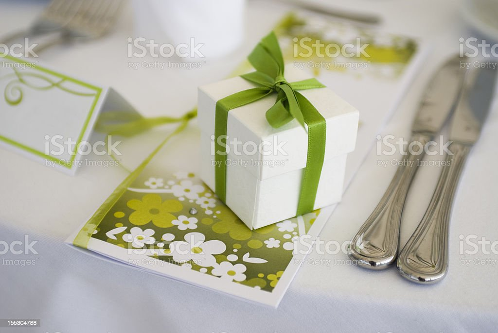 table decoration detail royalty-free stock photo