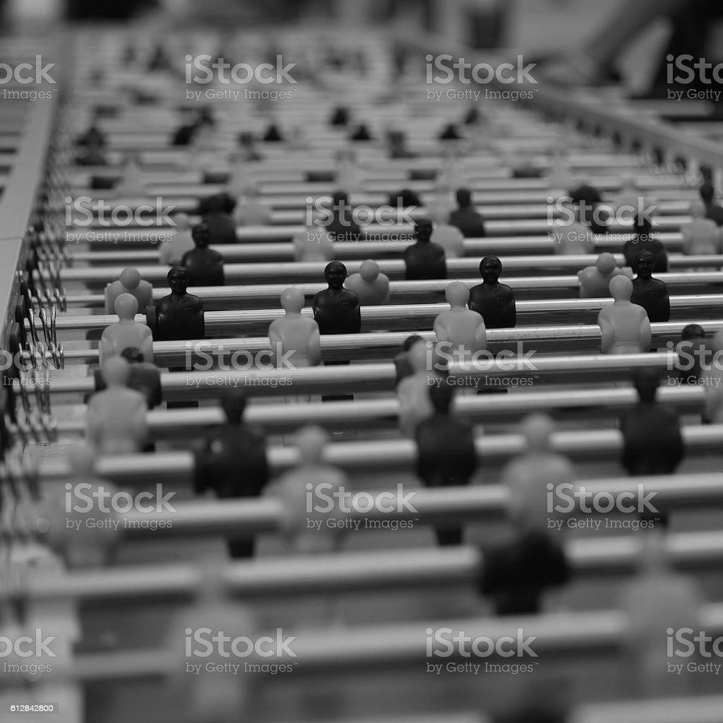 Table Football, Biliardino, Calcio-balilla stock photo