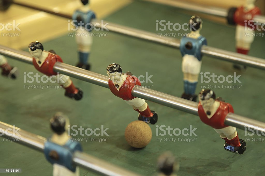 Table football royalty-free stock photo