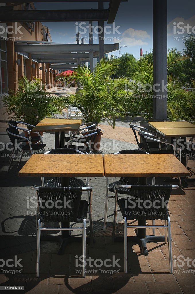 Table for Four royalty-free stock photo
