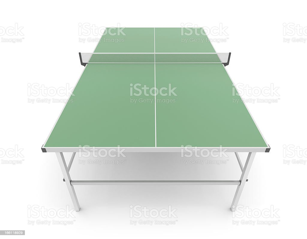 Table for tennis royalty-free stock photo