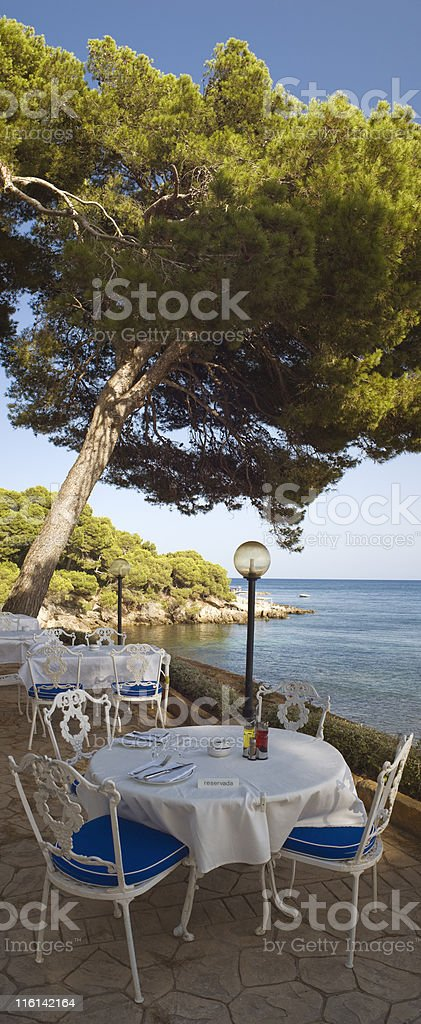 Table for two. royalty-free stock photo