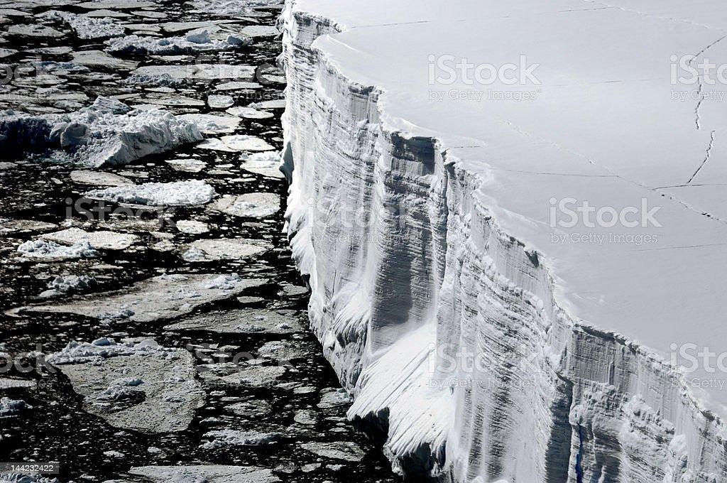 表の氷山上から ロイヤリティフリーストックフォト