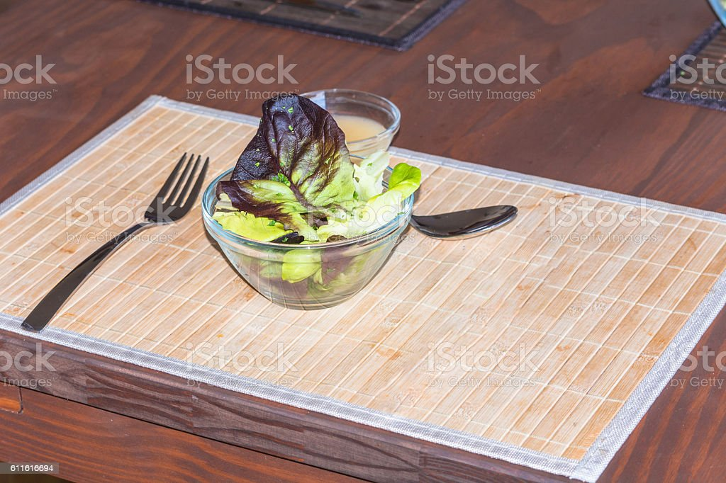 Table Manners for left-handers. stock photo