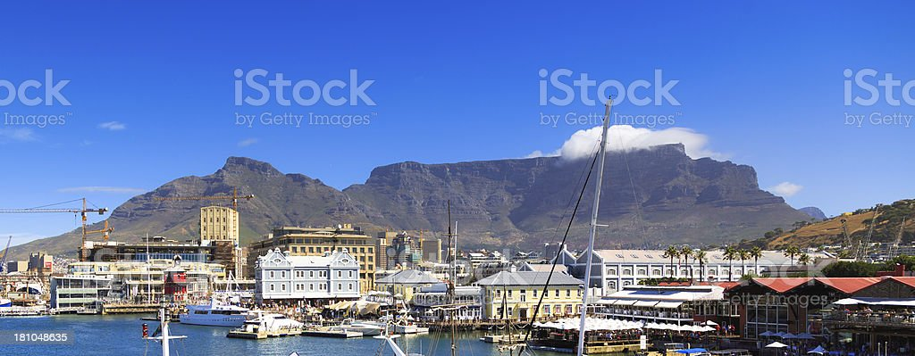 Table Mountain, Cape Town royalty-free stock photo
