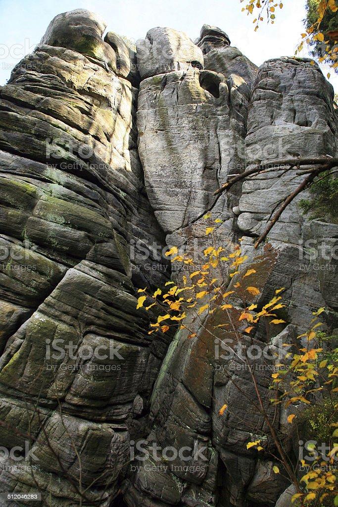 Table Mountain in Poland stock photo