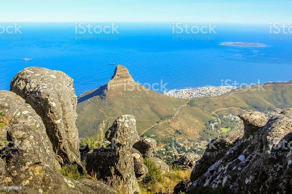 Table Mountain National Park stock photo