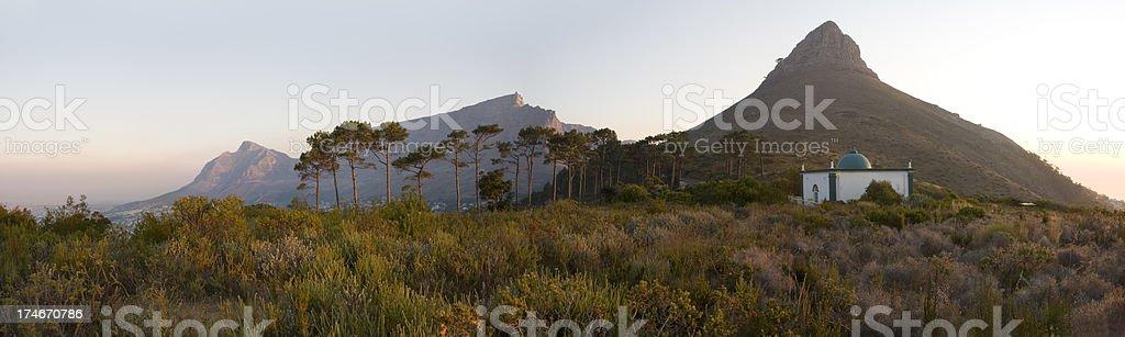 Table Mountain Panoramic stock photo
