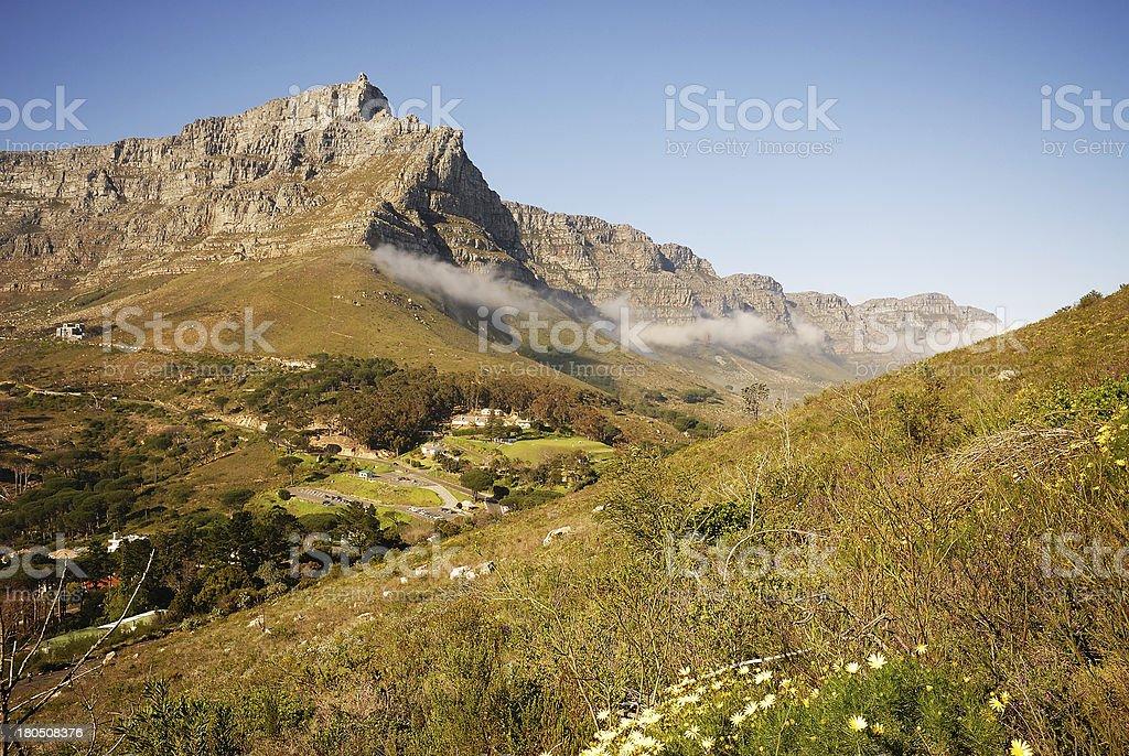 Table Mountain royalty-free stock photo