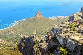 Table Mountain trekking