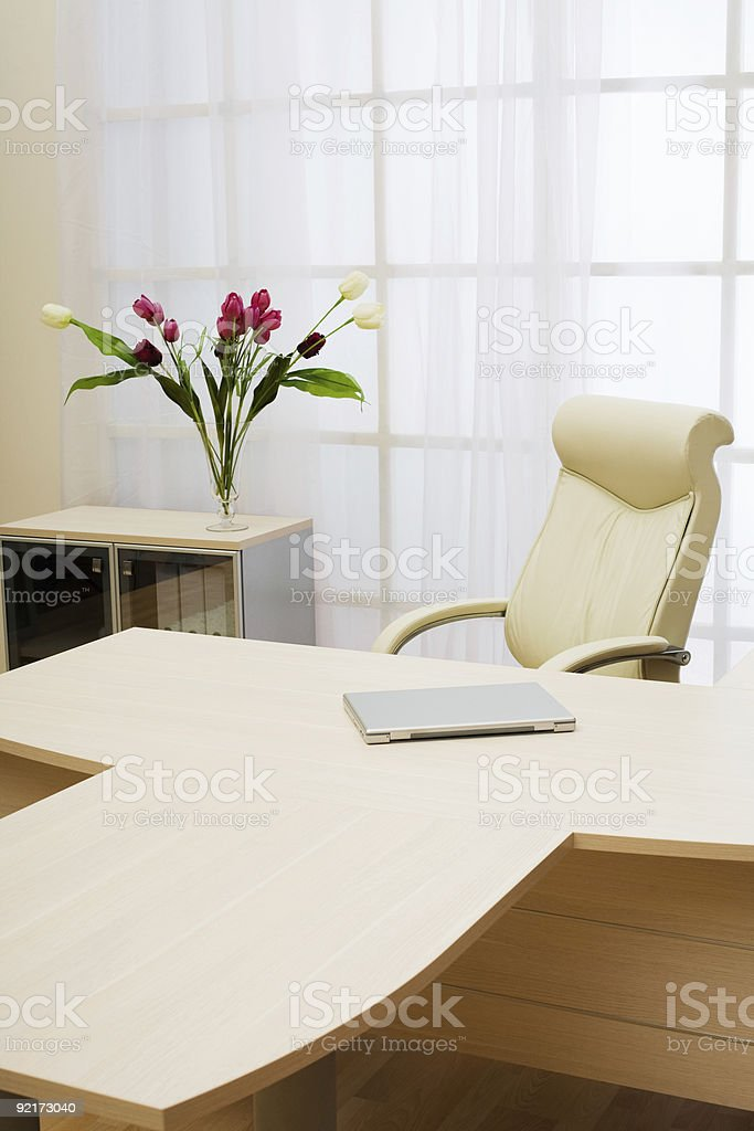 table of director royalty-free stock photo