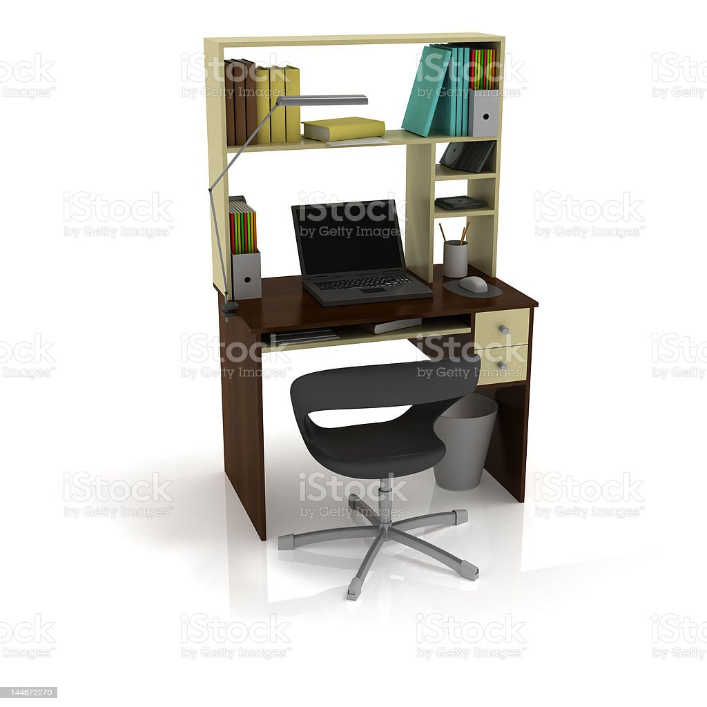 Table Office royalty-free stock photo