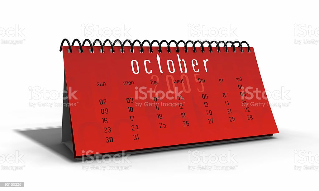 table planner stock photo