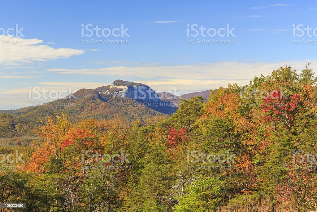 Table Rock in Autumn royalty-free stock photo