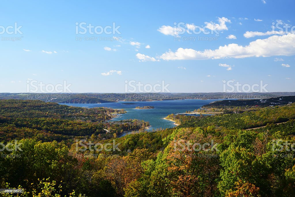 Table Rock Lake stock photo