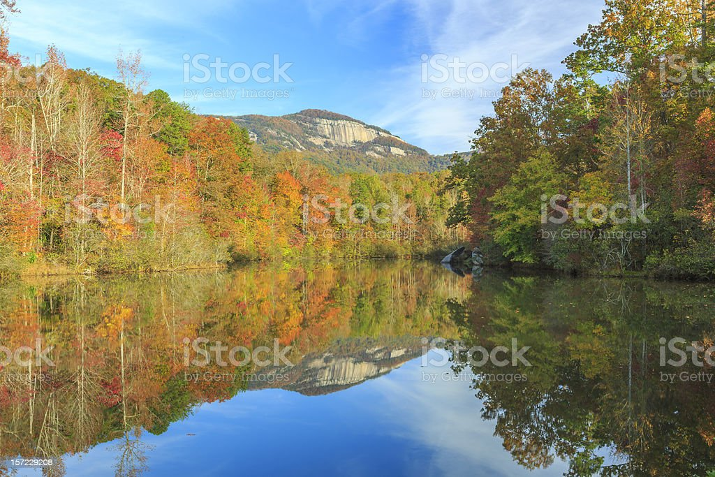 Table Rock Reflections royalty-free stock photo