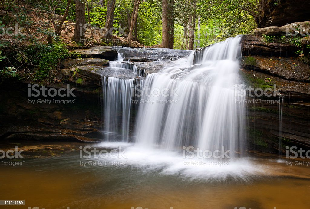 Table Rock State Park SC Waterfalls Carrick Creek Nature Landscape royalty-free stock photo