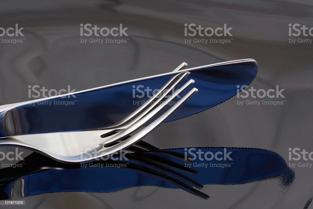 Table sets royalty-free stock photo