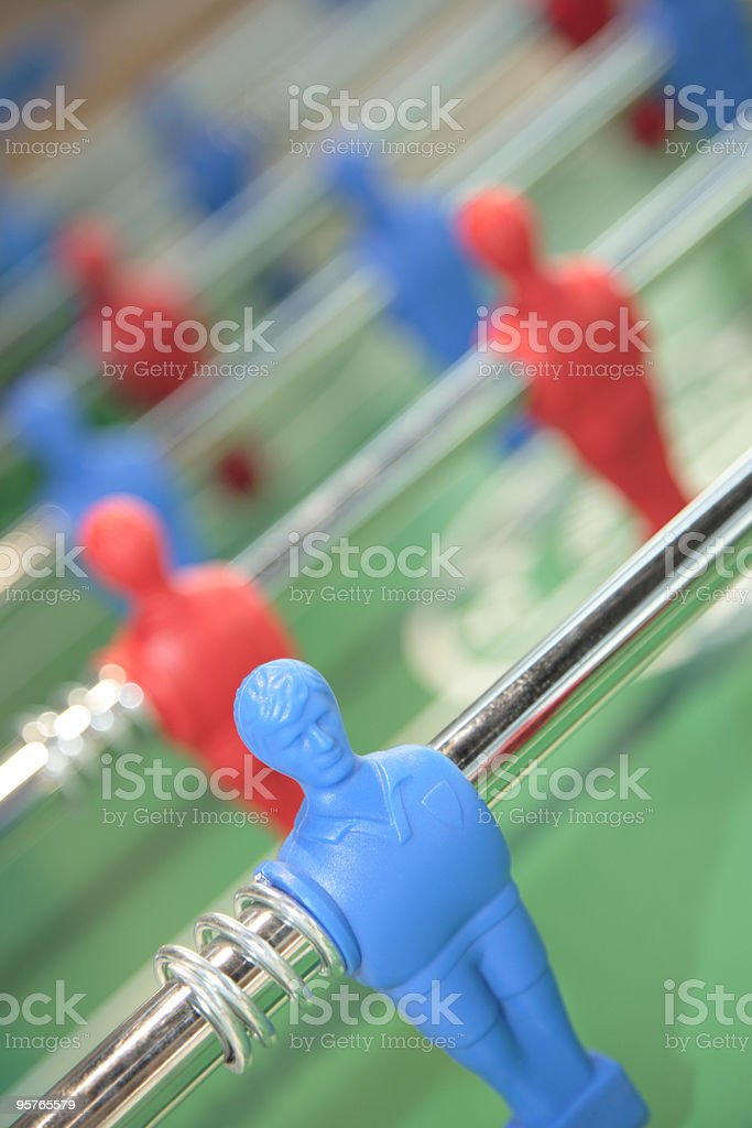 Table Soccer/Football Game royalty-free stock photo
