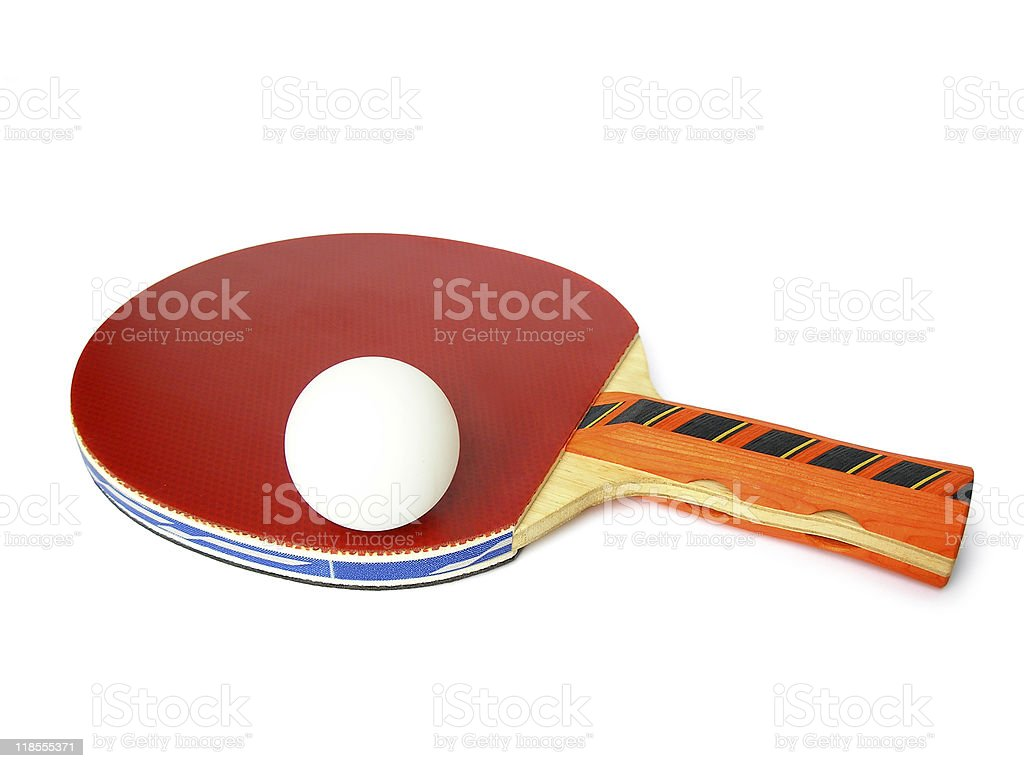 table tennis bat royalty-free stock photo