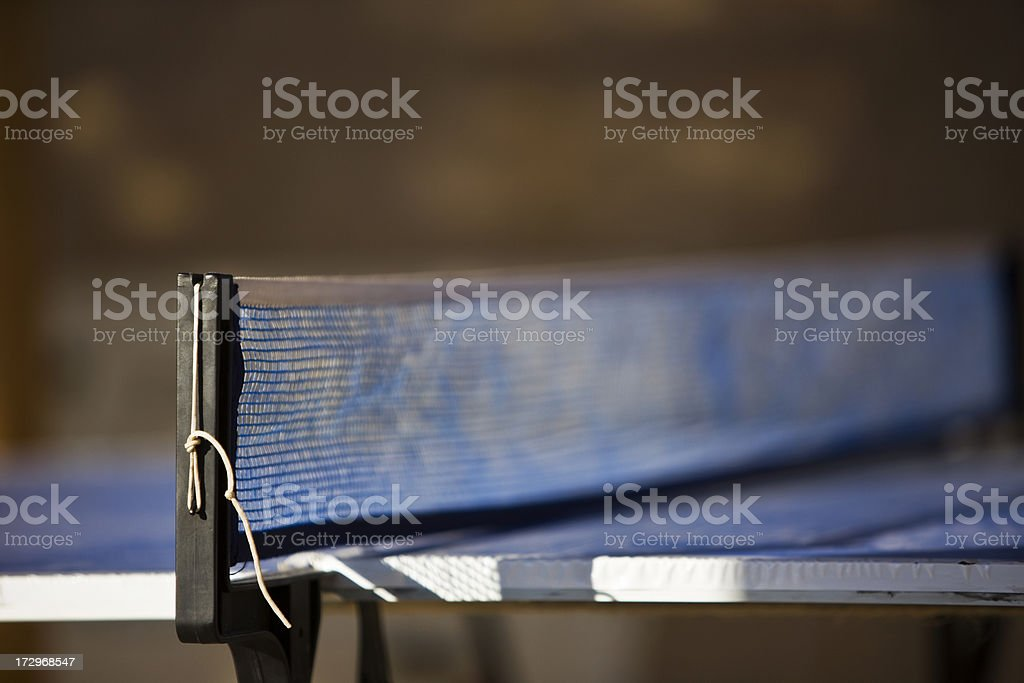 Table Tennis Net royalty-free stock photo