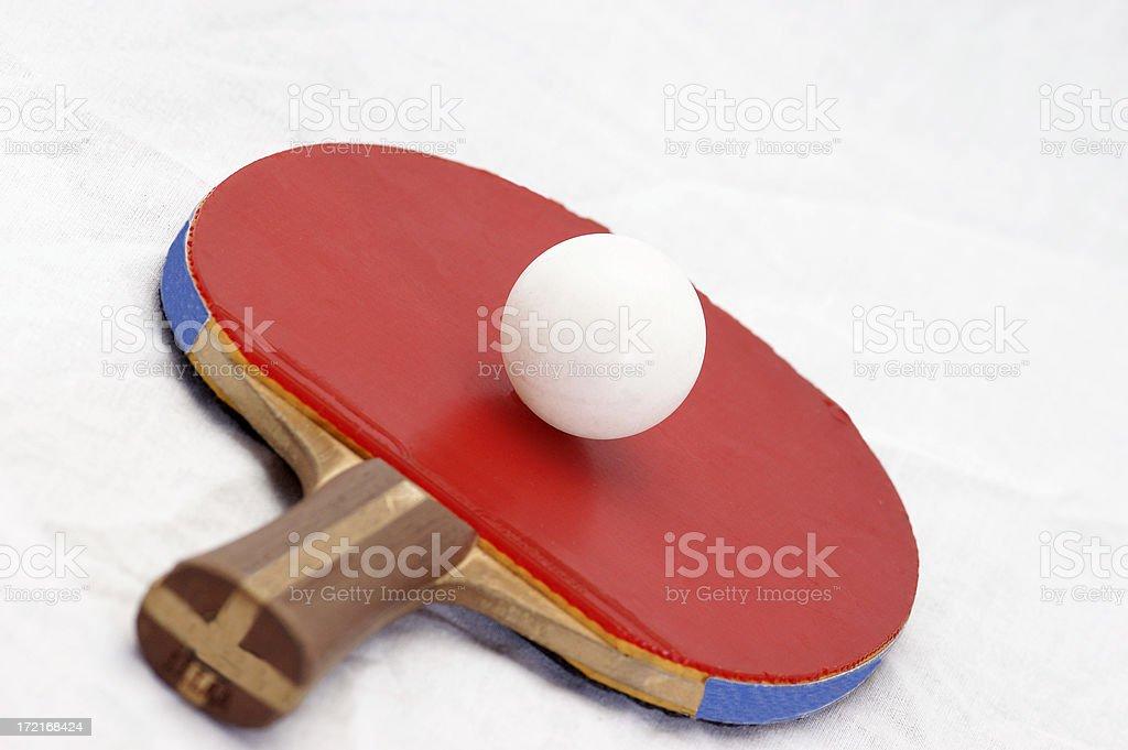 Table Tennis royalty-free stock photo