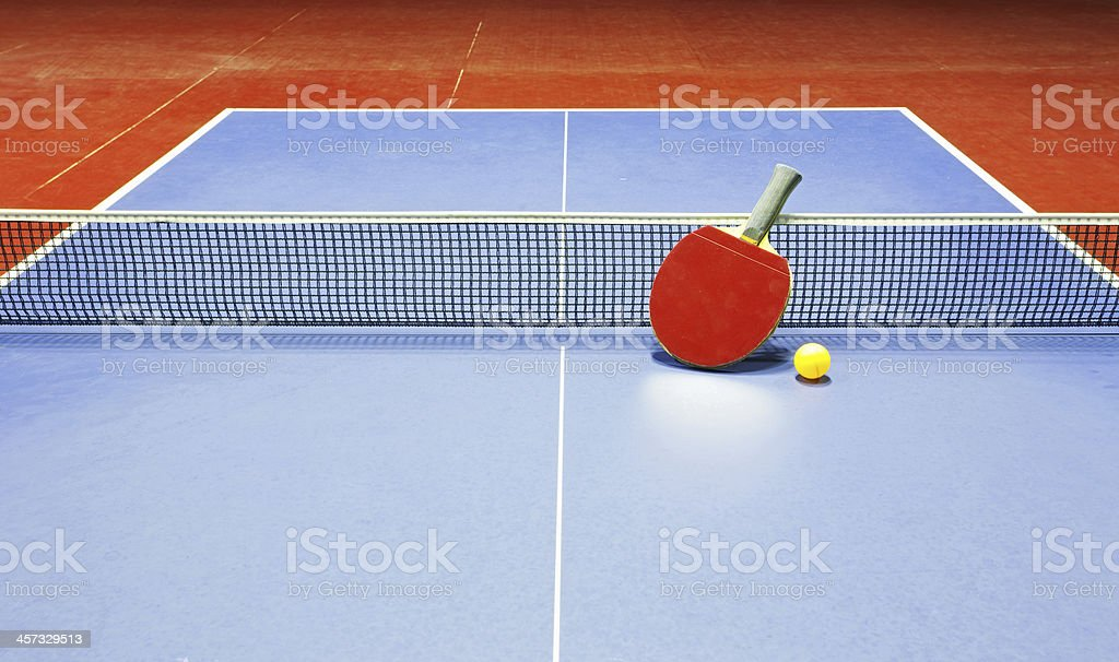 Table tennis, Ping - pong stock photo