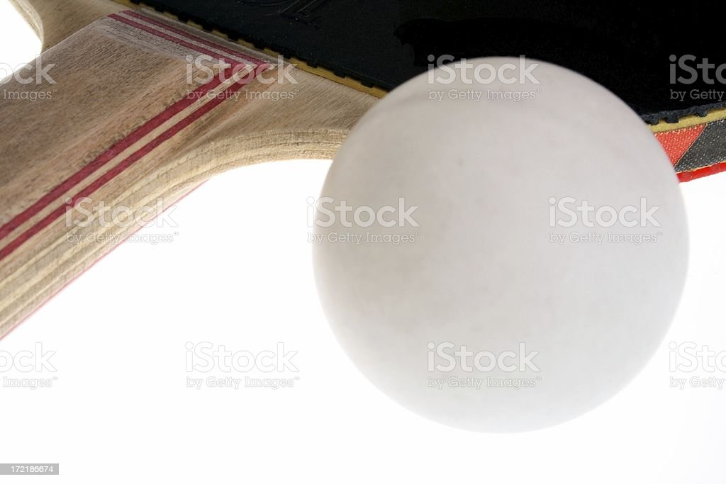 Table tennis ping-pong royalty-free stock photo