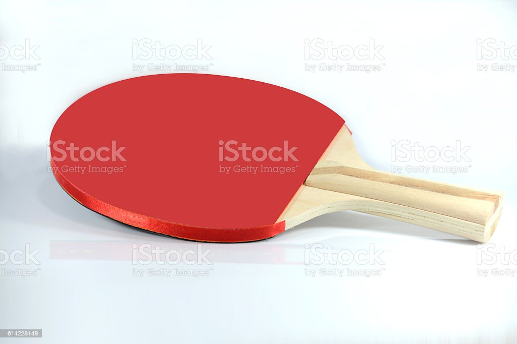 Table Tennis Racket stock photo