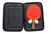 table tennis rackets with cover
