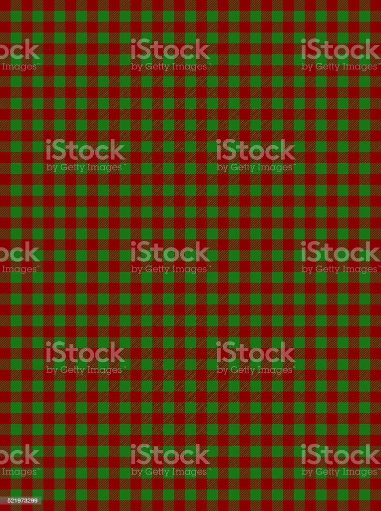 Tablecloth red green stock photo