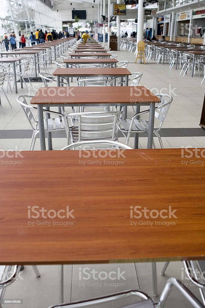 Tables & Chairs royalty-free stock photo