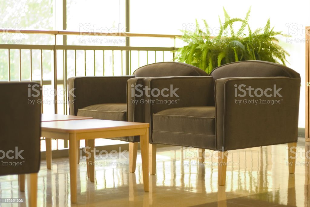 Tables n Chairs royalty-free stock photo