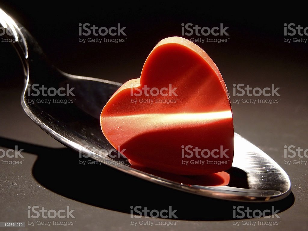 Tablespoonful Of Love stock photo
