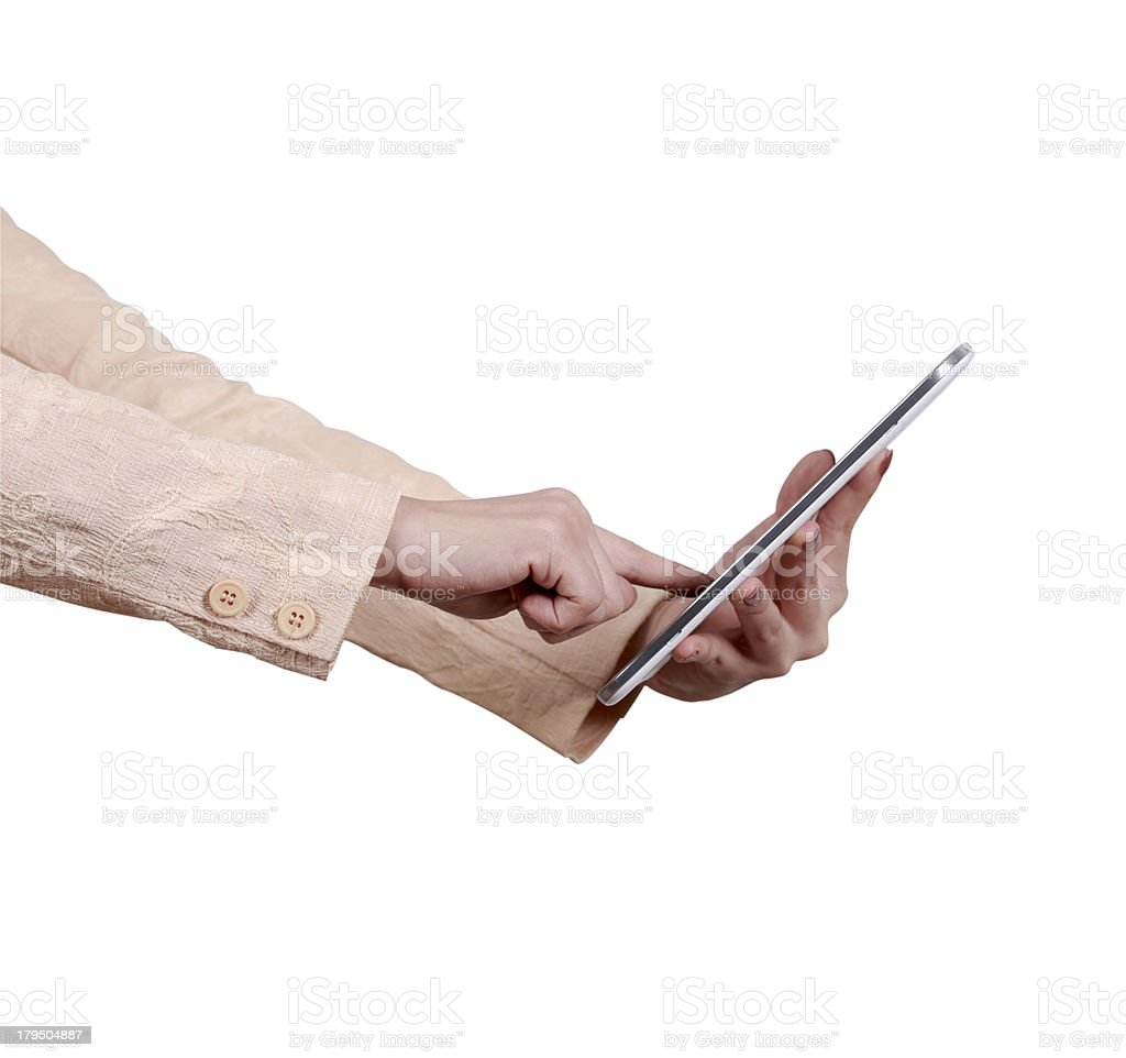 tablet computer royalty-free stock photo