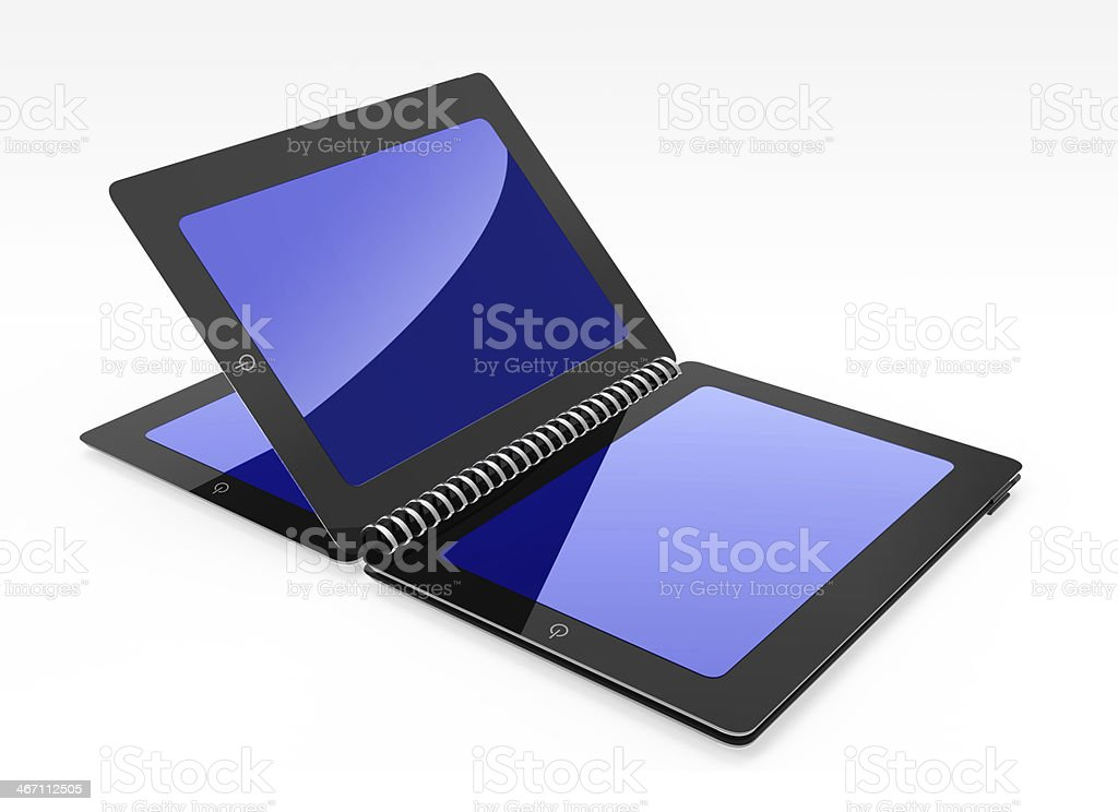 tablet creative open same book royalty-free stock photo