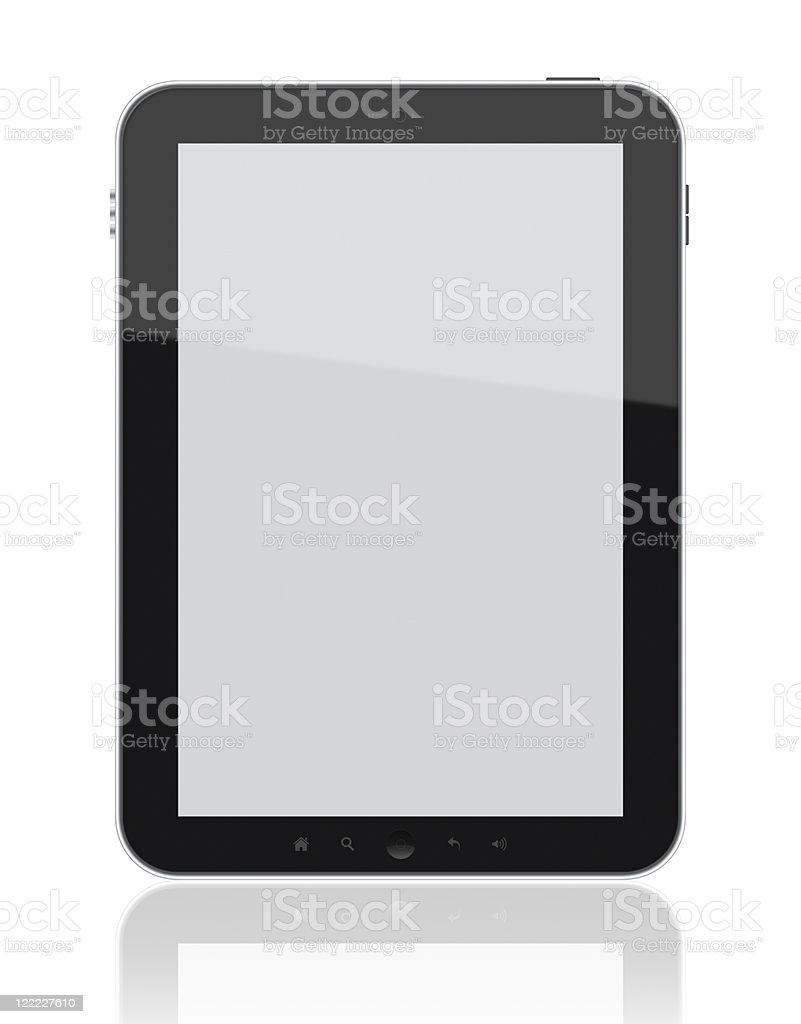 Tablet PC royalty-free stock photo