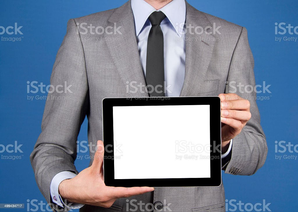 Tablet PC - Stock Image royalty-free stock photo