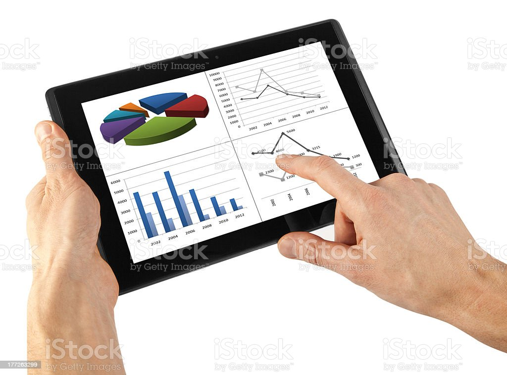 tablet royalty-free stock photo