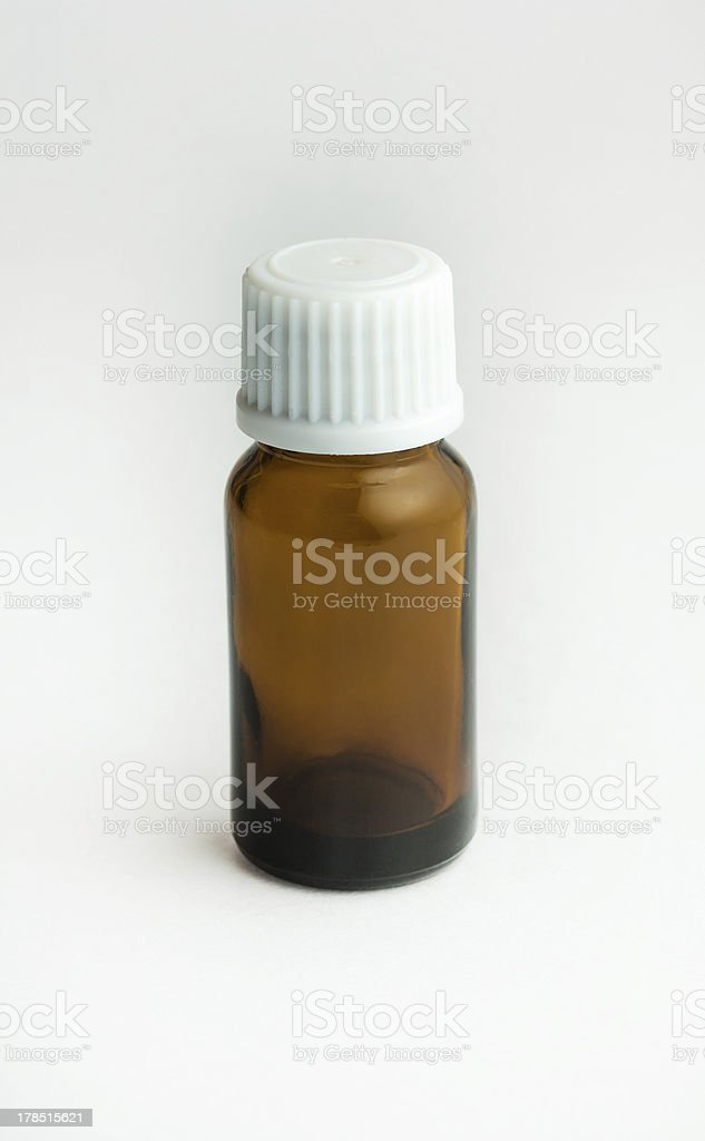 tablet small bottle royalty-free stock photo