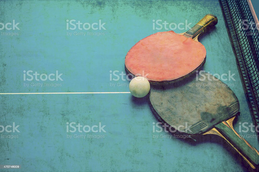 Tabletennis royalty-free stock photo