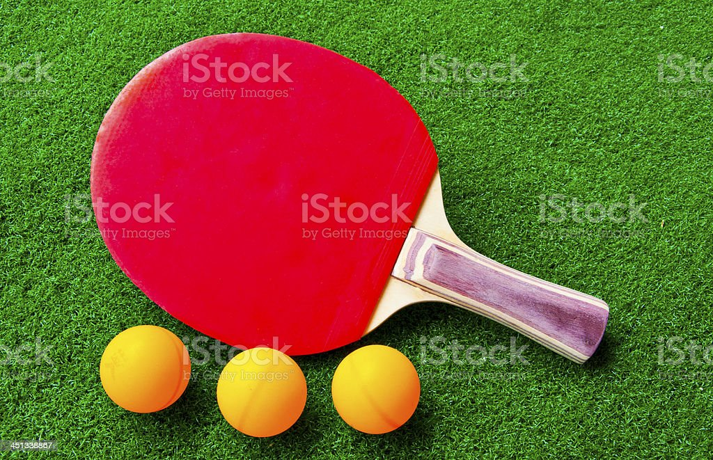 table-tennis sport equipment royalty-free stock photo