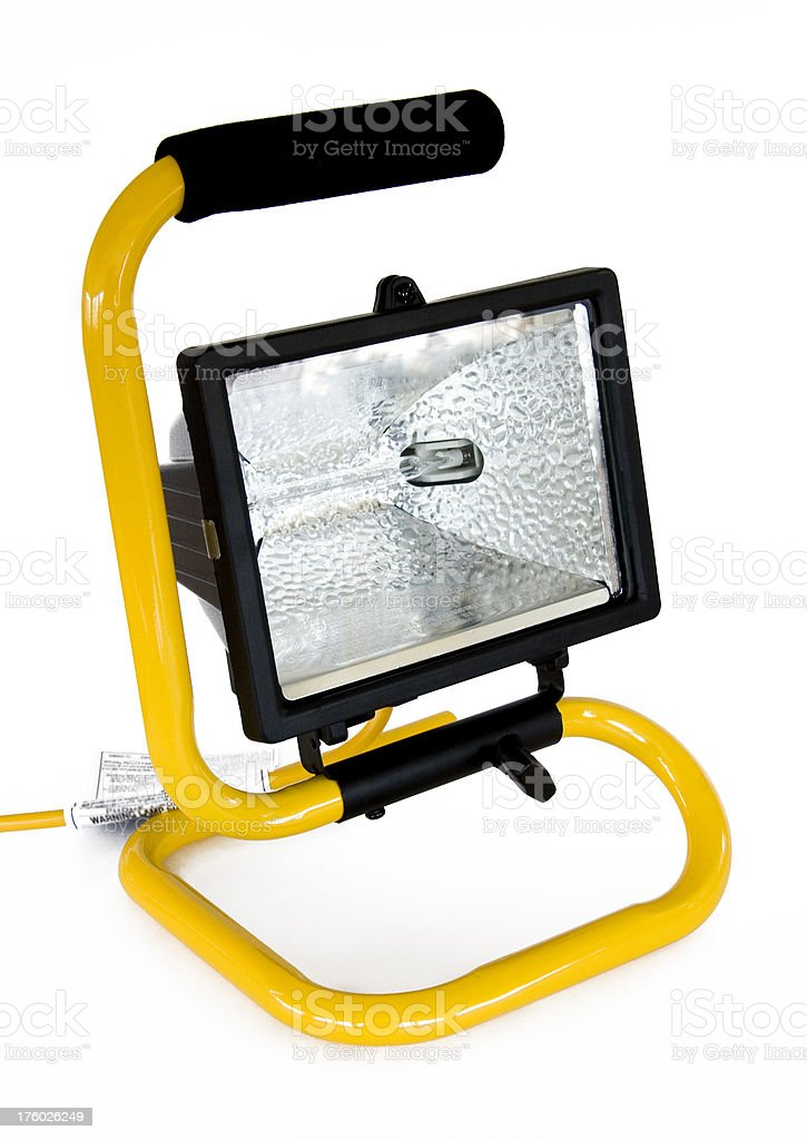 Tabletop work light stock photo