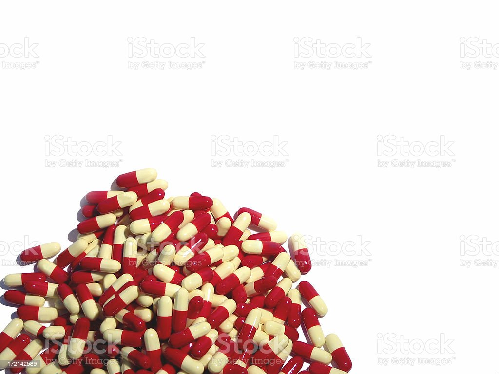 tablets 500 mg royalty-free stock photo