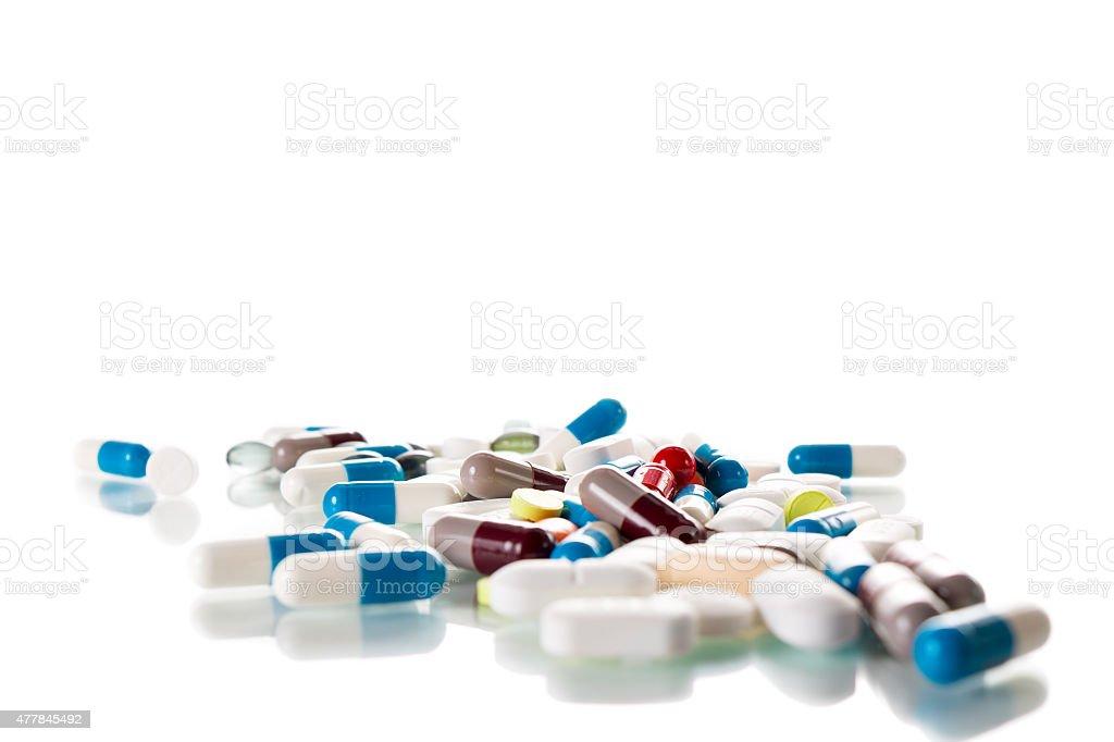 Tabletten stock photo