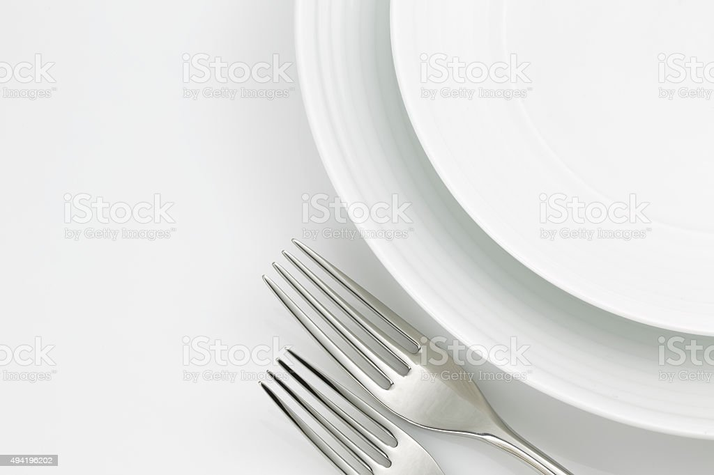 Tableware decoration closeup stock photo